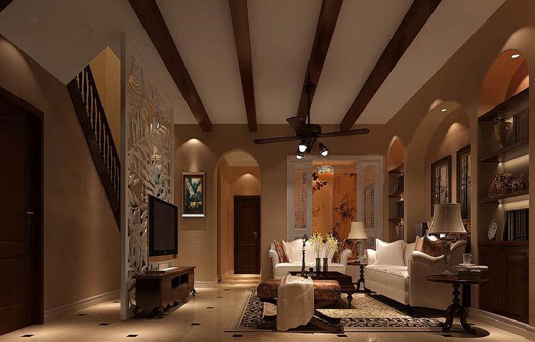 托斯卡纳 美观 温馨 舒适 恋家 豪华档次 客厅图片来自北京高度装饰设计王鹏程在简欧风格的分享