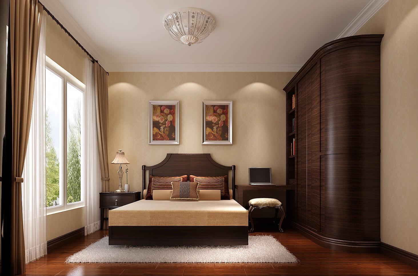 休闲 大气 美式家具 迥然不同 卧室图片来自高度国际装饰刘玉在素雅整洁的休闲家居的分享