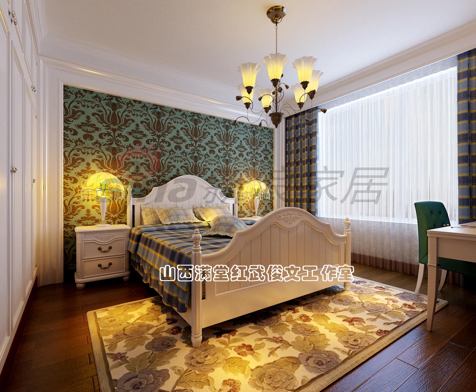 简约 欧式 卧室图片来自满堂红设计师武俊文在长治别墅的分享