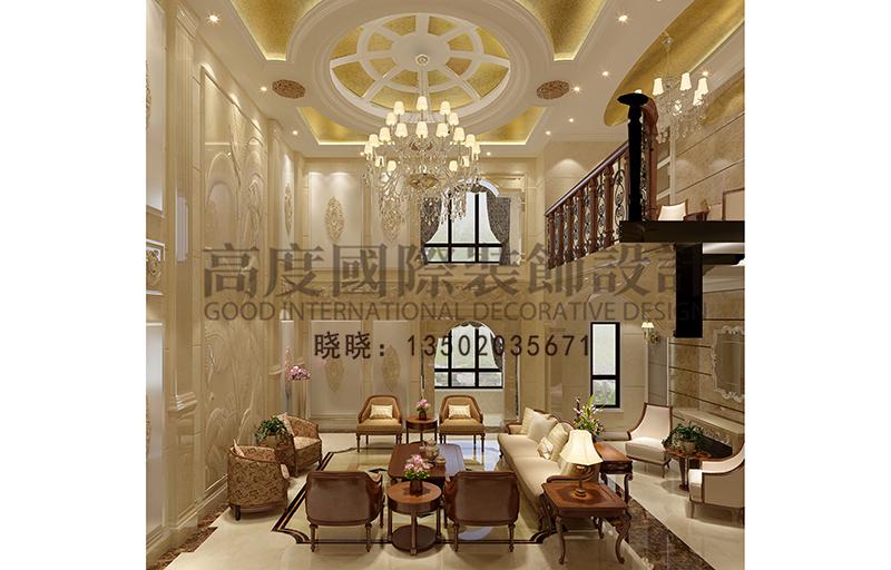 欧式 别墅 小资 客厅图片来自大小姐在华润中央公园的分享