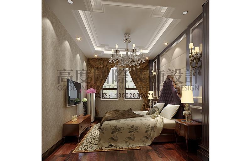 欧式 别墅 小资 卧室图片来自大小姐在华润中央公园的分享