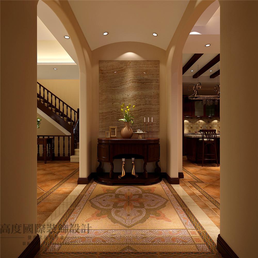 美式 新古典 别墅装修 新新家园 380平米 设计风格 装修样板间 玄关 玄关图片来自天天快乐的石头在新新家园美式新古典风格装修案例的分享
