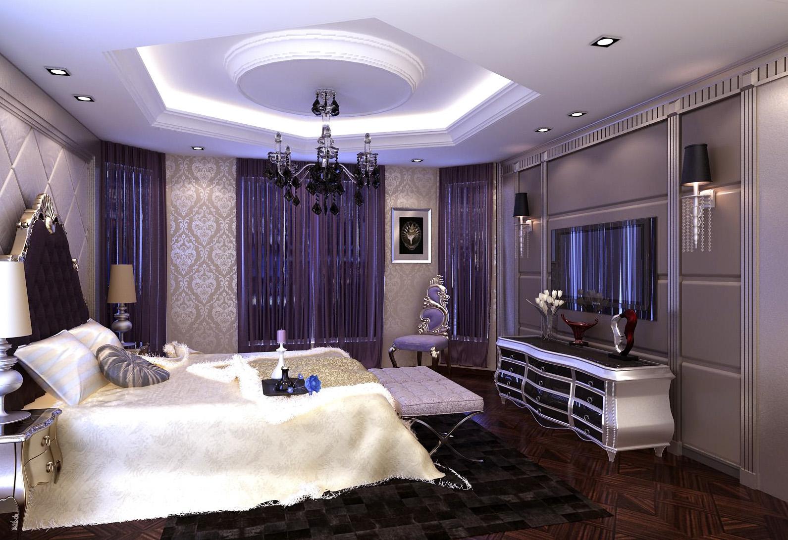 欧式 混搭 别墅 卧室图片来自设计精英在别墅设计的分享