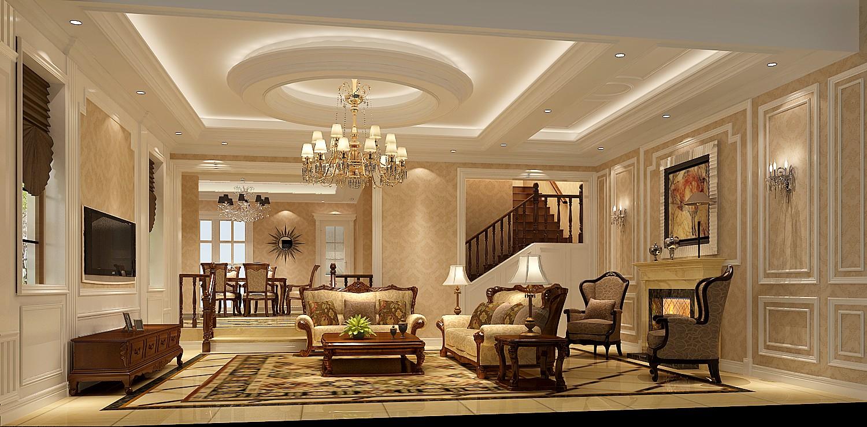 别墅 客厅 客厅图片来自专业别墅设计工作室在原河名墅的分享