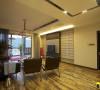 名雕装饰设计-桑泰丹华三期四居室-混搭风格客厅