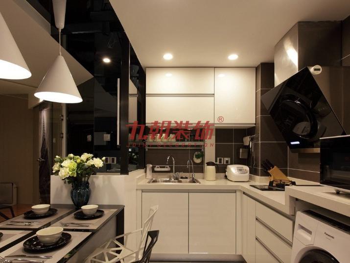 简约 四居室 超大空间 九朝装饰 西安装修 厨房图片来自陕西九朝装饰公司在九朝装饰:170平米超大空间的分享