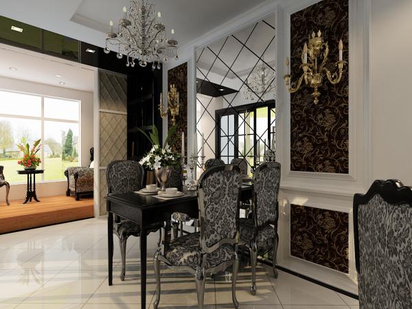 注入了新的内容,新材质新工艺,线条演绎出新装饰主义概念,墙顶面的材质搭配拼接处理具有鲜明光泽与质感。不同材质的搭配呈现出线条奢华而内敛的氛围餐厅颜色鲜明的对比,不仅要美观,更重要的整体性。