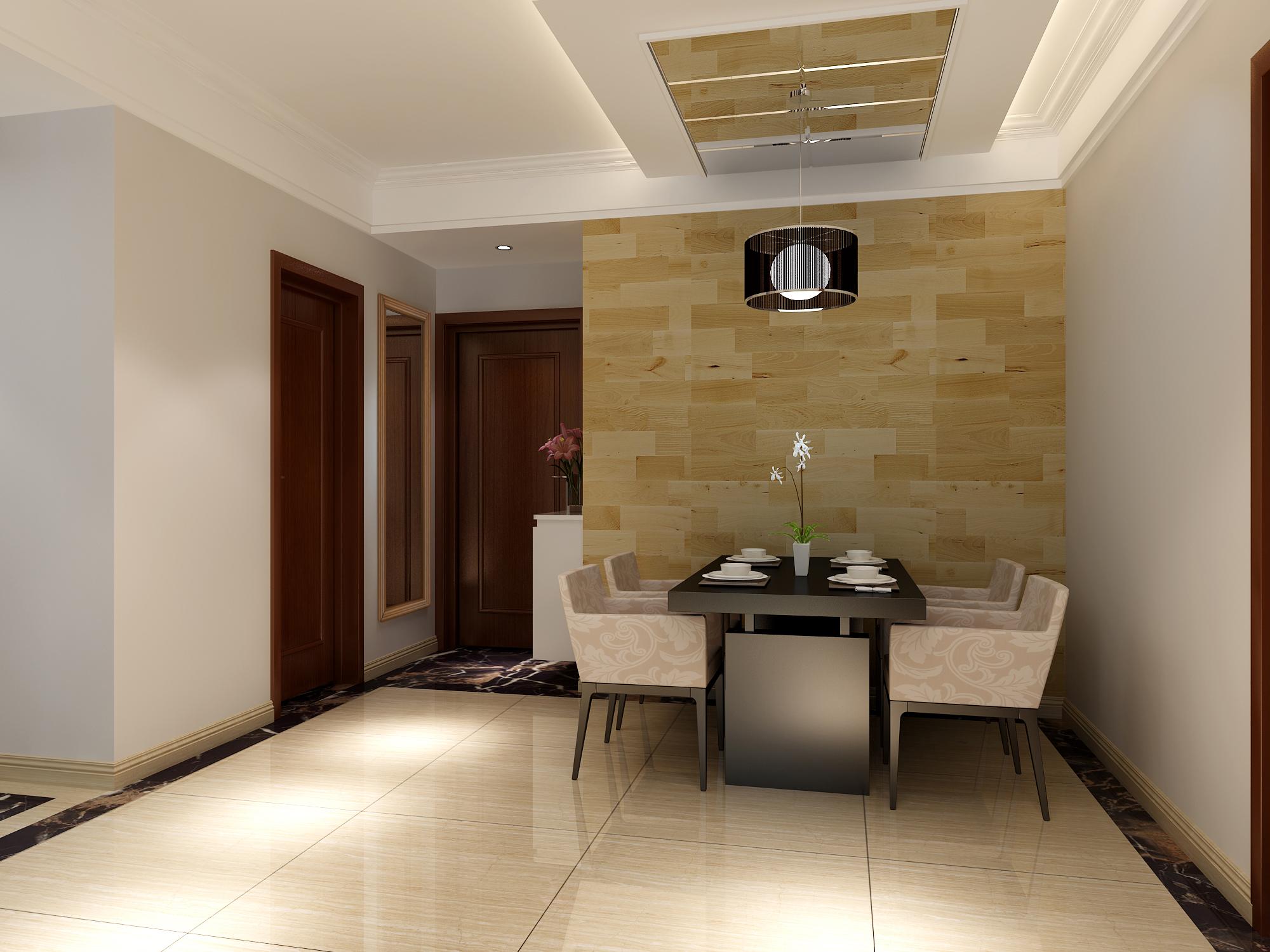 简约 二居 餐厅图片来自业之峰太原分公司在简洁温馨舒适的分享
