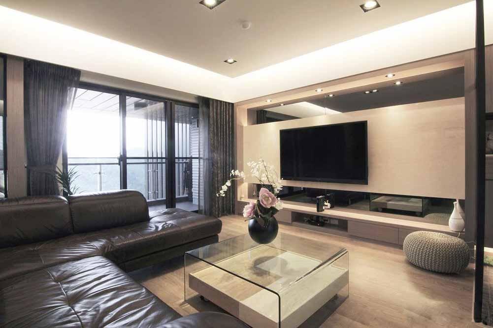 客厅图片来自成都生活家装饰徐洋在现代风格3的分享