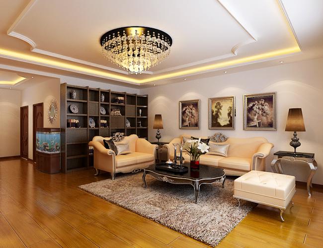 欧式 简约 三居 客厅图片来自北京世家装饰工程有限公司在省公务员小区简欧的分享