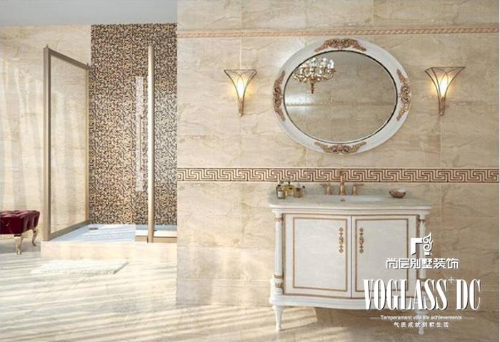 别墅 新中式 白领 卫生间 卫生间图片来自北京别墅装修案例在不一样的新中式的分享