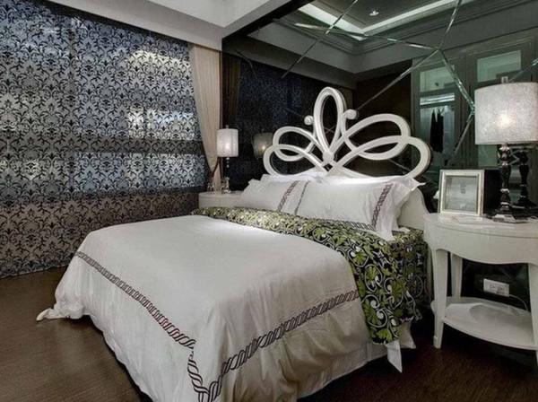 120平米欧式风格设计效果图  卧室