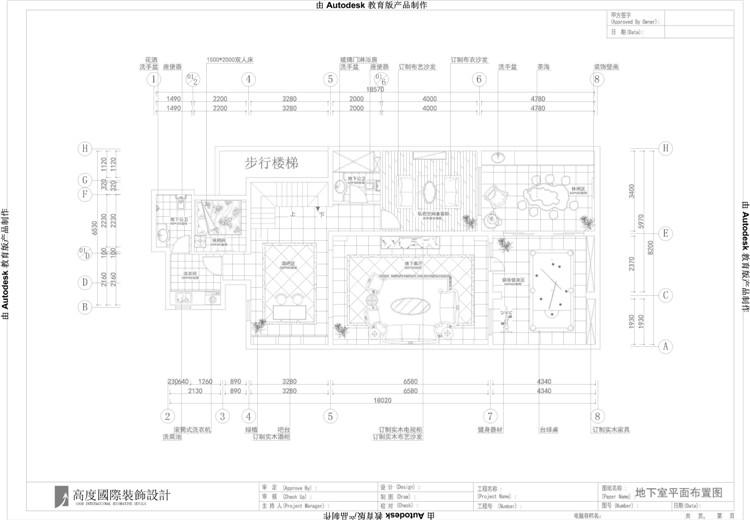 红杉溪谷 托斯卡纳 高度国际 欧式 别墅 白领 80后 小资 户型图图片来自北京高度国际装饰设计在红杉溪谷的分享