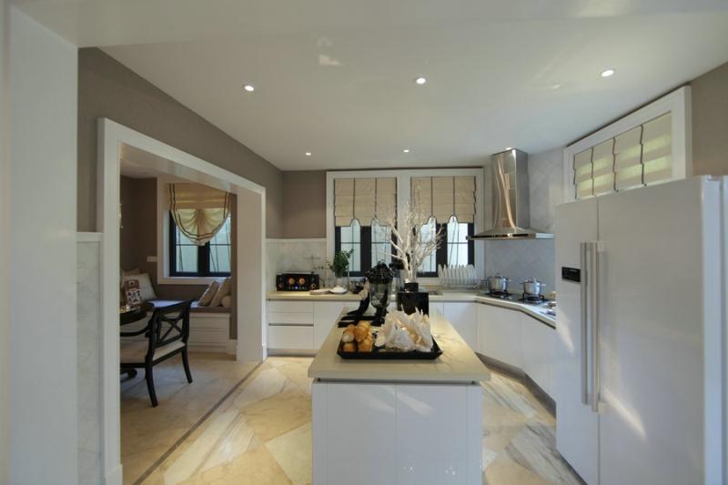 欧式 四居 成都装修 成都装饰 小资 厨房图片来自华西装饰集团在玺龙湾简欧风格案例实拍的分享