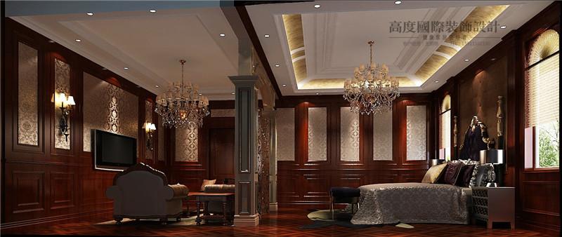 美式 美观 别墅漂亮 豪华档次 温馨舒适 其他图片来自北京高度装饰设计王鹏程在500平米美式风格独栋别墅的分享