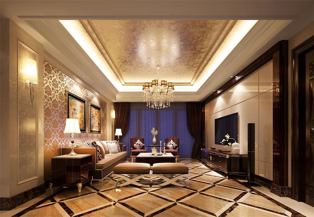 欧式 客厅图片来自广州致然装饰在会展世界城的分享