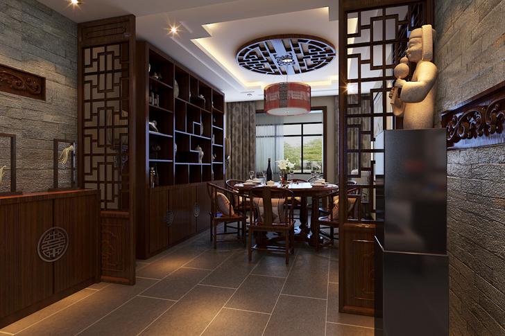 简约 小资 餐厅图片来自业之峰太原分公司在简中的分享