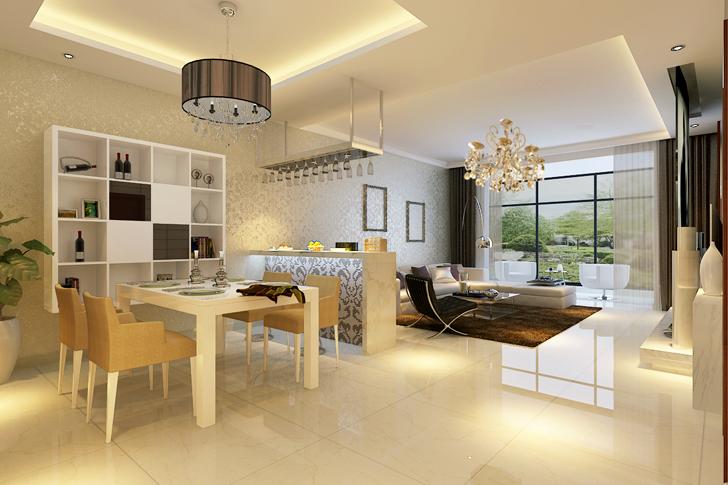 简约 混搭 客厅图片来自业之峰太原分公司在简约时尚的分享