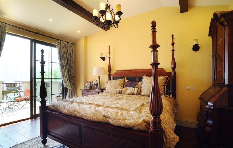 田园 别墅 成都装修 成都装饰 80后 卧室图片来自华西装饰集团在时光俊园165m²东南亚小跃层的分享
