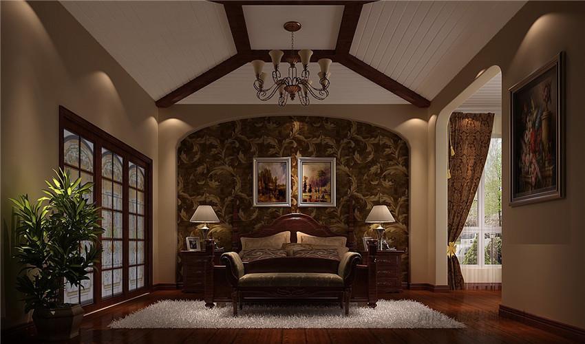 别墅 欧式 装饰 设计案例 装修美图 卧室图片来自高度国际别墅装饰设计在香醍溪岸320平米装饰设计的分享
