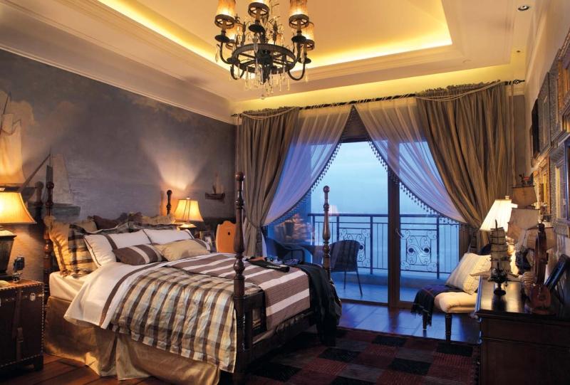 欧式 别墅 成都装饰 成都装修 跃层 卧室图片来自华西装饰集团在成都合院380m²欧式风格装修案例的分享