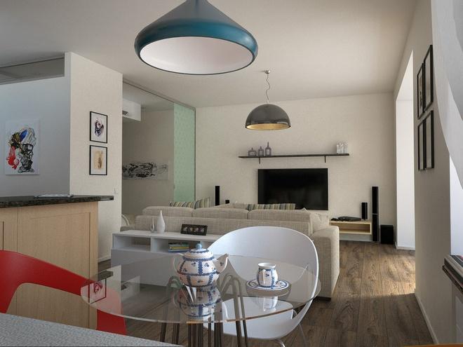 一居,北欧 收纳 小资 餐厅图片来自陈小迦在布局更协调,空间更舒适的小户型的分享