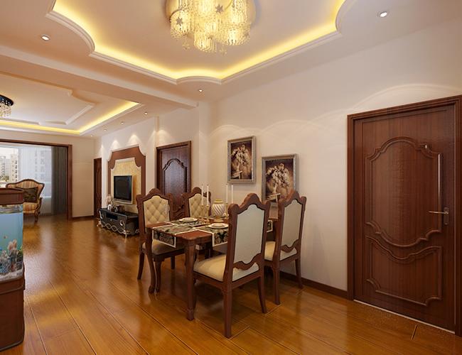 欧式 简约 三居 餐厅图片来自北京世家装饰工程有限公司在省公务员小区简欧的分享