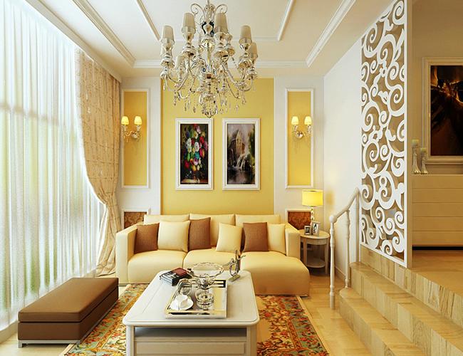 简约 欧式 三居 客厅图片来自北京世家装饰工程有限公司在上和园著简欧的分享