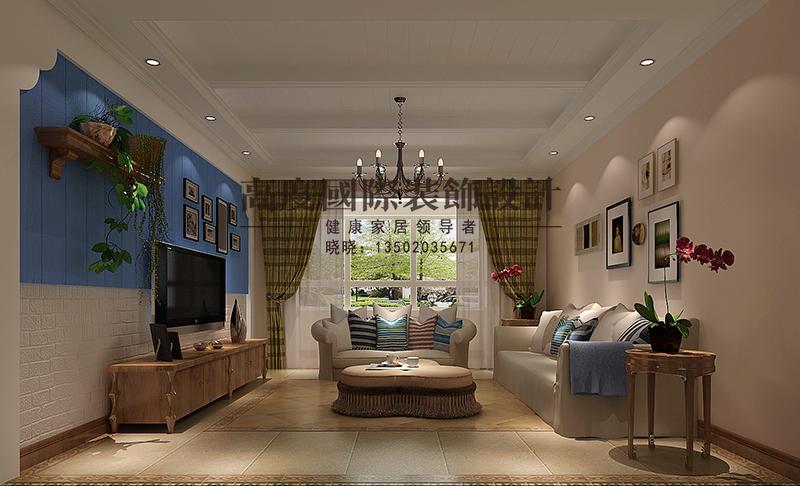 欧式 三居 客厅图片来自大小姐在新汇华庭的分享