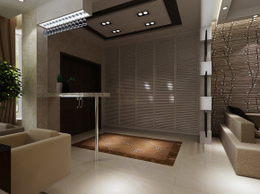 简约 复式装修 客厅设计 电视背景墙 简约风格 餐厅装修 衣帽间 其他图片来自西安城市人家装饰王凯在216平米现代简约风格复式之家的分享