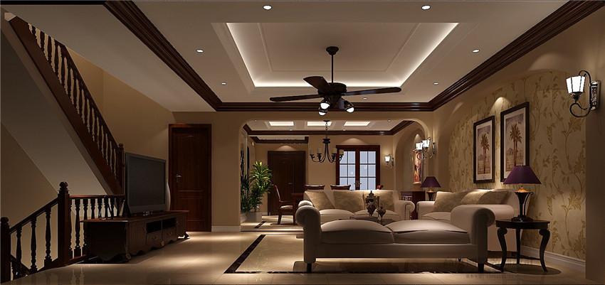 别墅 欧式 装饰 设计案例 装修美图 客厅图片来自高度国际别墅装饰设计在香醍溪岸320平米装饰设计的分享