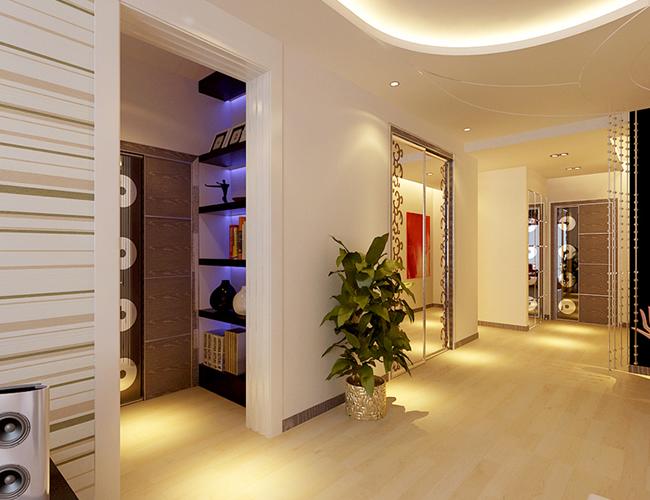 简约 三居 别墅 玄关图片来自北京世家装饰工程有限公司在爱建新城现代简约的分享