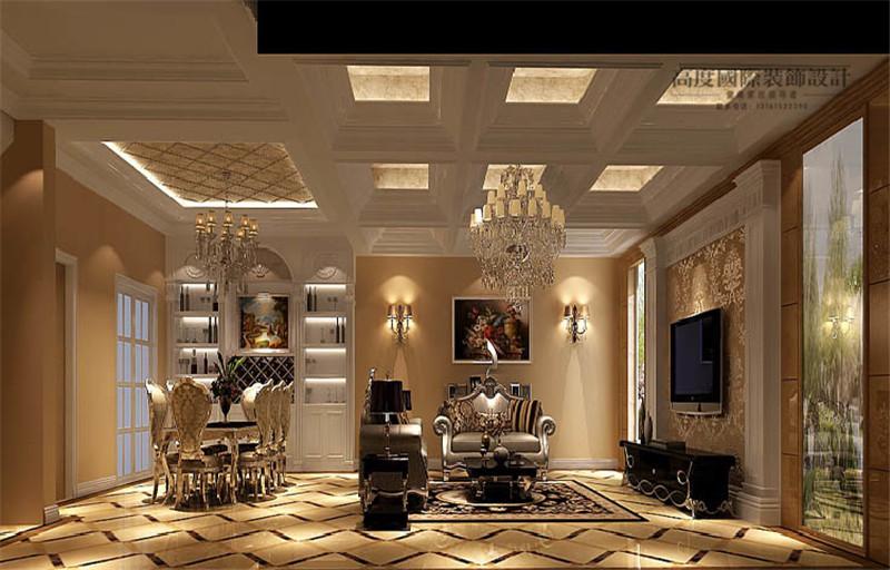 美式风格 别墅装修 装修样板间 室内设计 北京装修公 五室两厅 餐厅效果图图片来自天天快乐的石头在美式风格装修效果图的分享