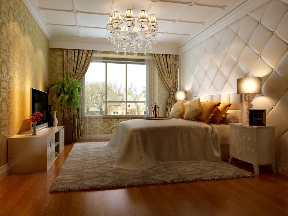 欧式 别墅 白领 卧室图片来自尚层别墅设计在远洋傲北的分享