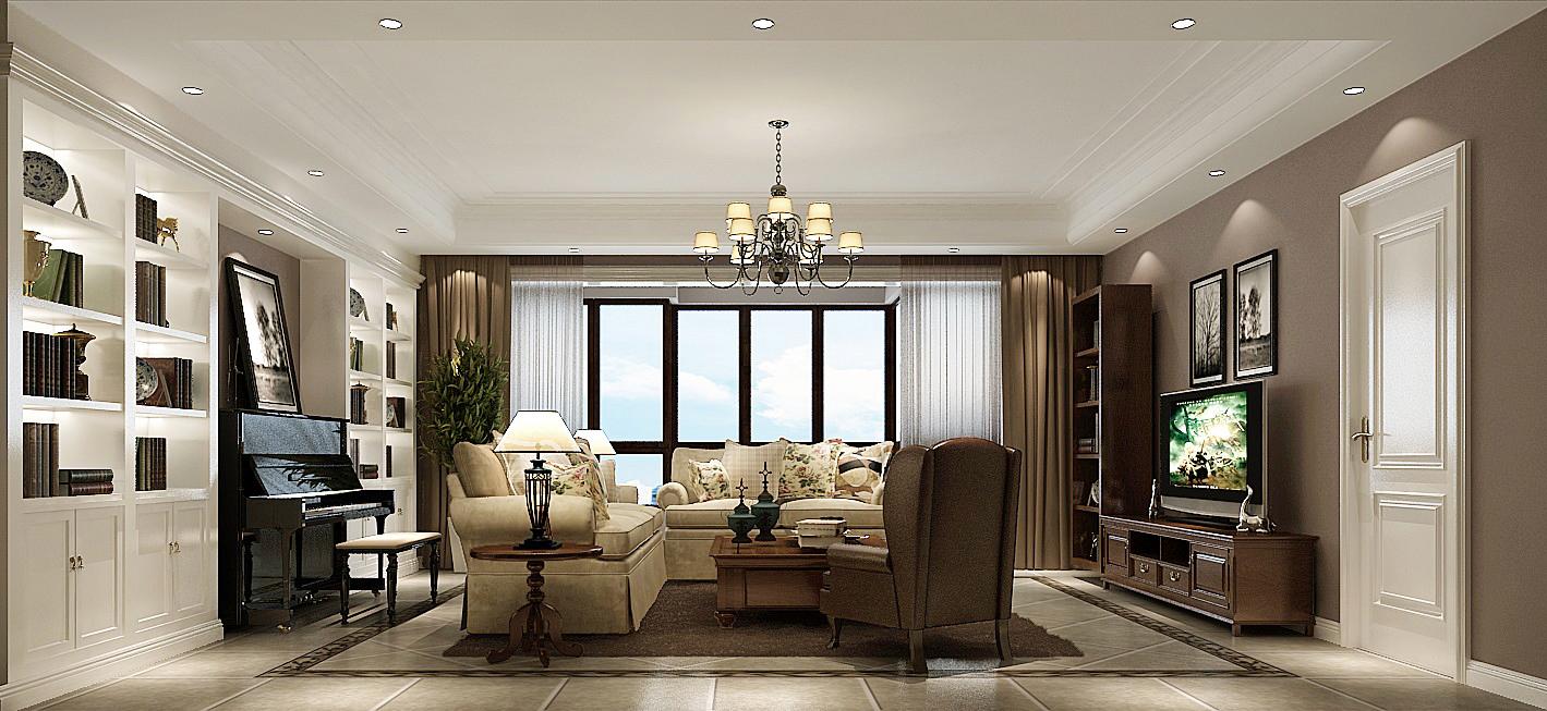 小路 高度 简约美式 公寓 客厅图片来自高度国际装饰设计卢旺在高贵,浪漫与自由的分享