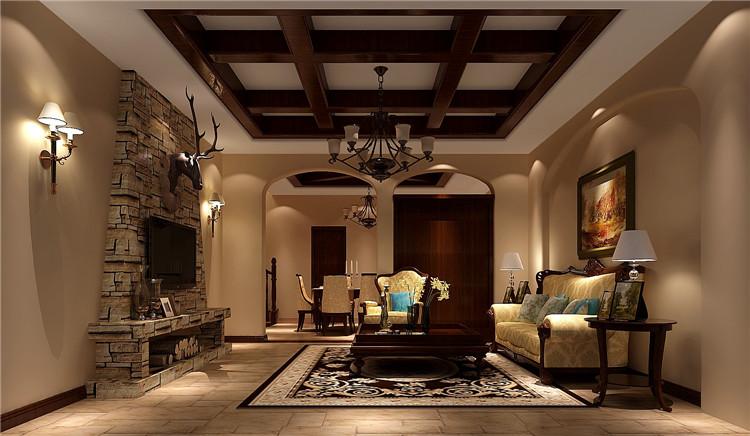 红杉溪谷 托斯卡纳 高度国际 欧式 别墅 三居 80后 小资 白领 客厅图片来自北京高度国际装饰设计在红杉溪谷300平托斯卡纳别墅的分享