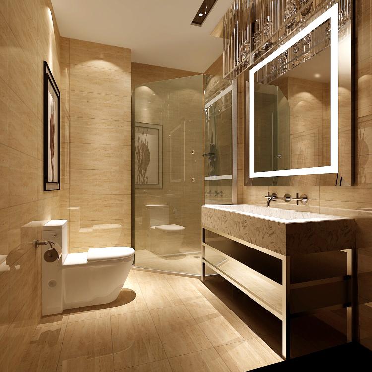 8哩岛 中式 高度国际 简约 现代 别墅 白领 80后 小资 卫生间图片来自北京高度国际装饰设计在8哩岛280平中式别墅的分享