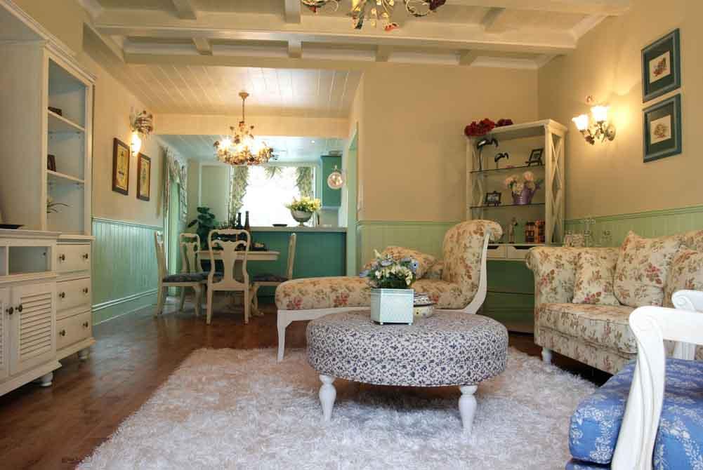 客厅图片来自成都生活家装饰徐洋在田园风格1的分享
