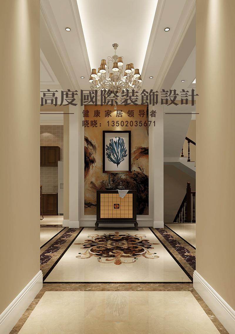 简欧 别墅 商业精英 玄关图片来自大小姐在中惠团泊湾的分享