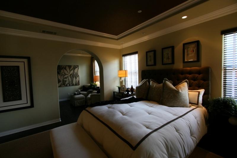 欧式 别墅 成都装修 成都装饰 跃层 卧室图片来自华西装饰集团在青城桃源圣地的分享