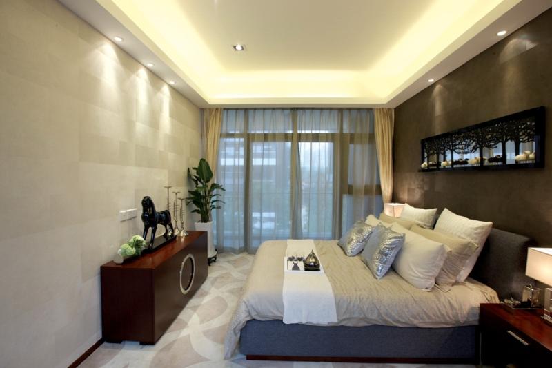 简约 别墅 四居 成都装修 成都装饰 卧室图片来自华西装饰集团在半山卫城朴墅的分享