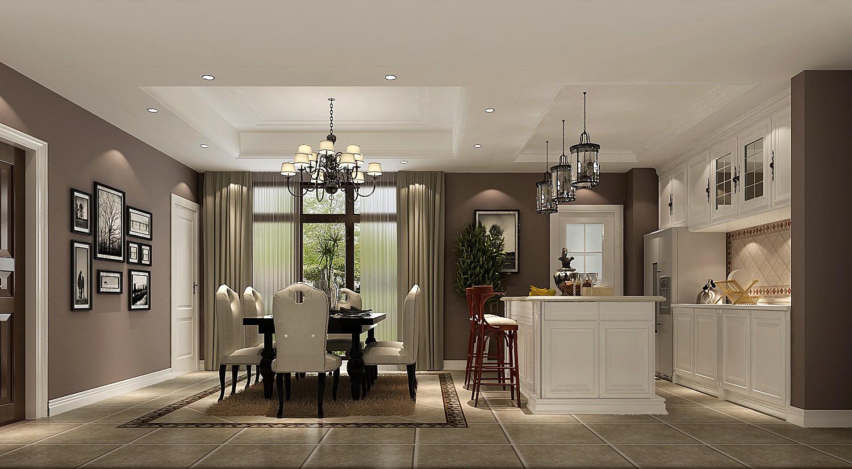 小路 高度 简约美式 公寓 餐厅图片来自高度国际装饰设计卢旺在高贵,浪漫与自由的分享