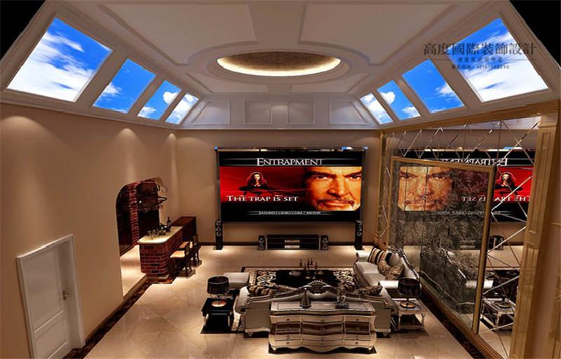 美式风格 别墅装修 装修样板间 室内设计 北京装修公 五室两厅 影音室 效果图图片来自天天快乐的石头在美式风格装修效果图的分享