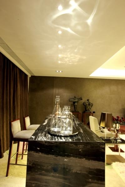 简约 别墅 四居 成都装修 成都装饰 餐厅图片来自华西装饰集团在半山卫城朴墅的分享