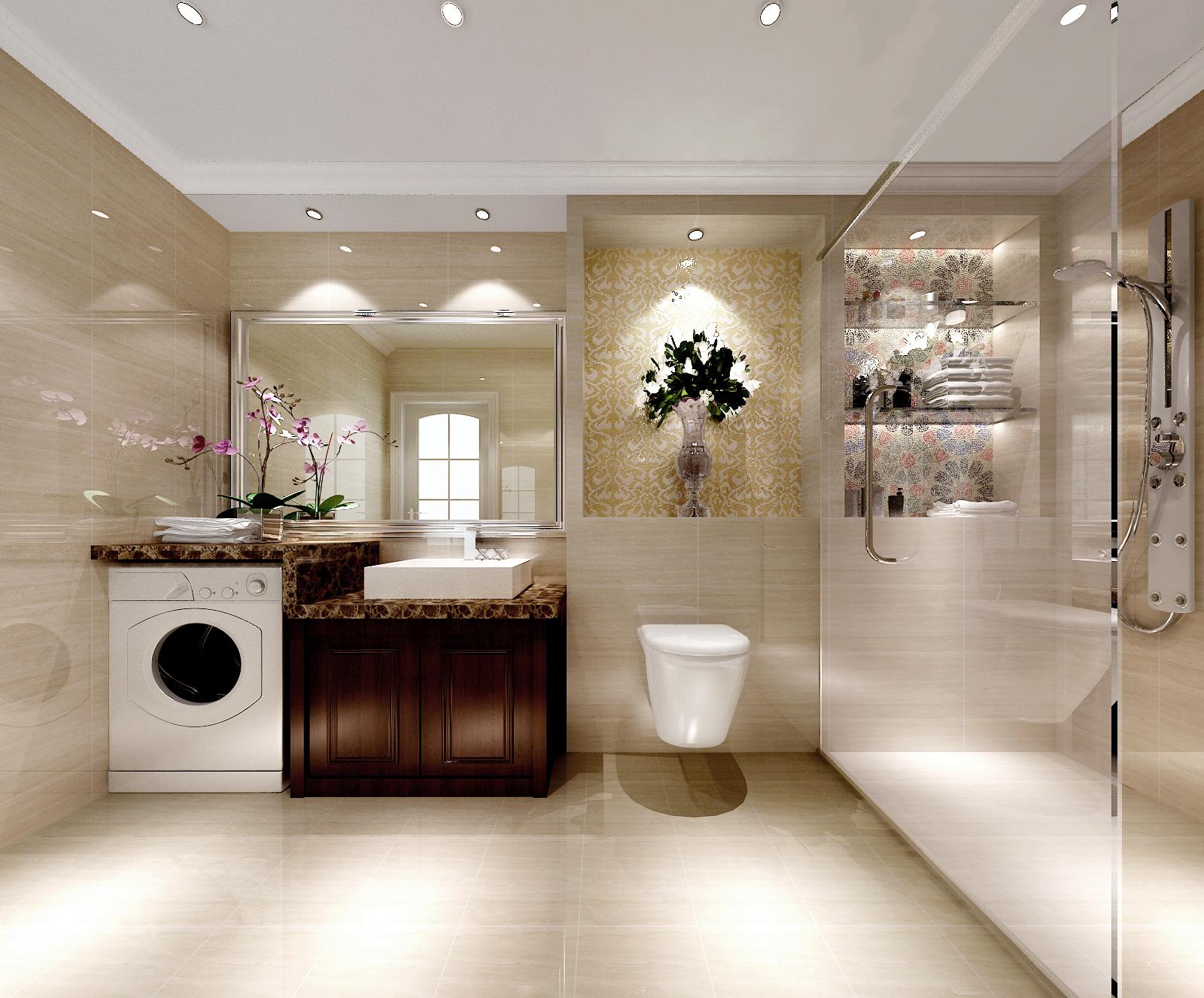 简约 欧式 三居 装修公司 高度国际 卫生间图片来自高度国际装饰华华在简约中的经典的分享
