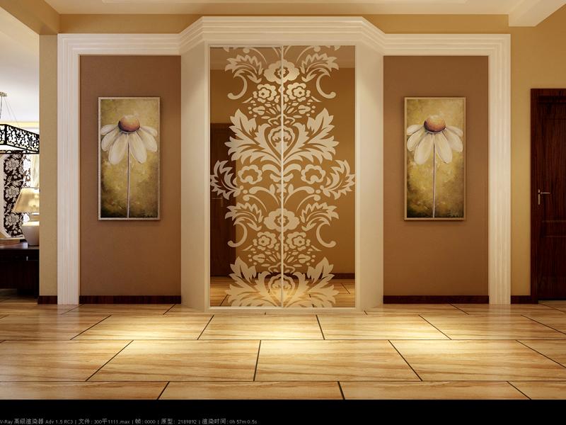 新古典 二居 玄关图片来自tjsczs88在华城佳苑-新古典的分享
