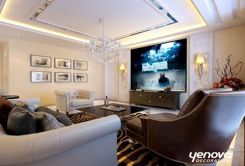 客厅图片来自兰州业之峰装饰公司在时尚生活的分享