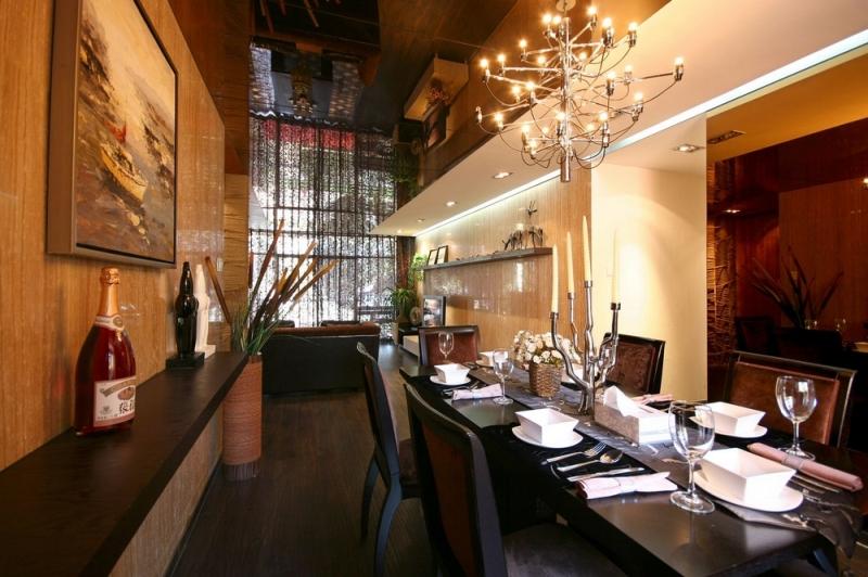 别墅 三居 简约 成都装修 成都装饰 餐厅图片来自华西装饰集团在半山青城190m²小别墅实拍案例的分享
