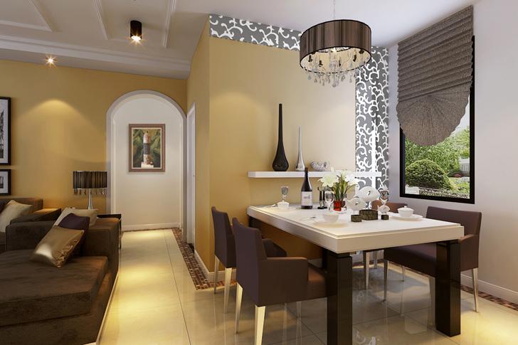简约 三居 餐厅图片来自业之峰太原分公司在简约绿地世纪城的分享