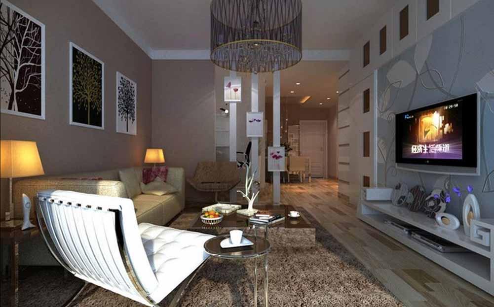 客厅图片来自成都生活家装饰徐洋在现代风格   3的分享
